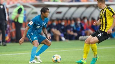 En video | Zenit, con Wilmar Barrios, levanta la Copa rota