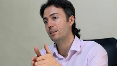 El alcalde de Medellín, Daniel Quintero Calle.