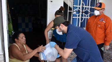 50 mil auxilios alimentarios a familias vulnerables en Barranquilla