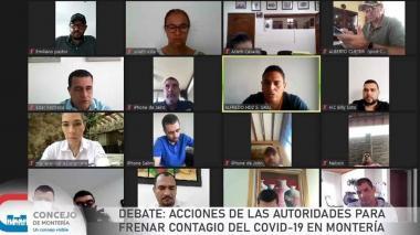 Concejo de Montería solicita celeridad a las EPS al tomar muestras COVID