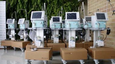 En Montería fueron habilitados 30 ventiladores enviados por la Presidencia