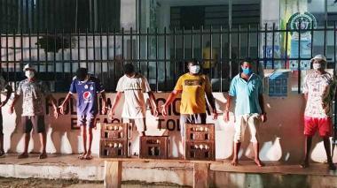 'Tatequieto' a los parranderos de Sucre en medio de la pandemia