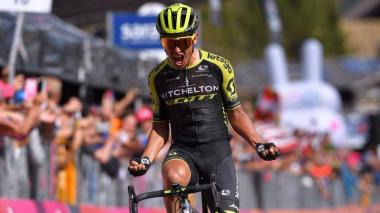 Esteban Chaves, de Michelton, será uno de los colombianos que participarán en la Vuelta a Burgos 2020.