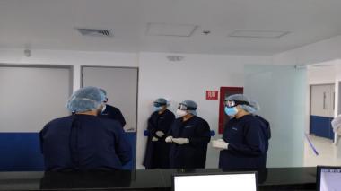 Recorrido por las nuevas unidades del Complejo Médico Soledad de Salud Total EPS.