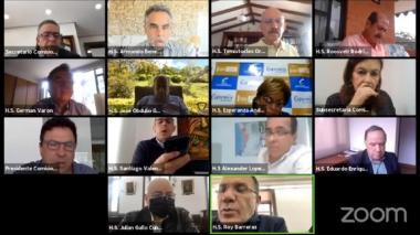 Vuelve la polémica por las sesiones virtuales del Congreso