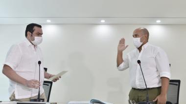 """""""Seguiremos la ruta trazada en el Cesar"""": gobernador (e)"""