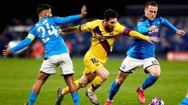 La Uefa confirma que Barcelona-Nápoles se jugará en el Camp Nou