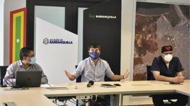 """""""Alerta hospitalaria bajó de naranja a amarilla"""": alcalde Pumarejo"""
