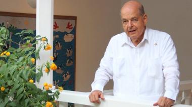 Raimundo Angulo, presidente del Concurso Nacional de Belleza.