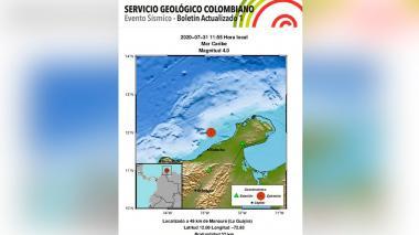 No hay consecuencias graves del sismo ocurrido en La Guajira