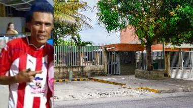 El cuerpo de Carlos Pavía fue trasladado a Medicina Legal en el barrio Los Andes de Barranquilla.