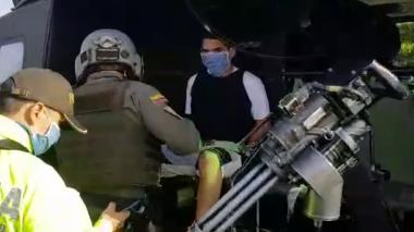 En video | El susto de 'Tommy Masacre' al ser trasladado a Valledupar