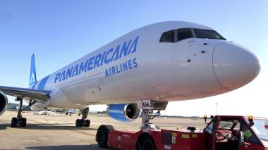 Una de las aeronaves que hace parte de la flota de Panamericana.