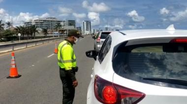 En video | 500 policías vigilan Cartagena el puente festivo