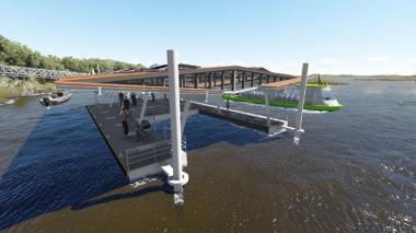 Firman convenio para proyecto de transporte público por el río Sinú