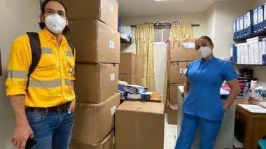 Llegan a La Guajira equipos de laboratorio para COVID-19 que donó Cerrejón