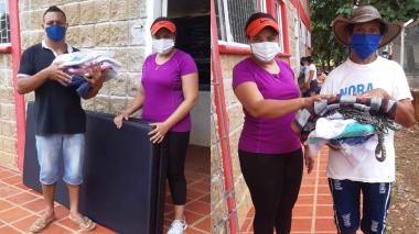 Entregan nuevas ayudas a familias desplazadas en San José de Uré