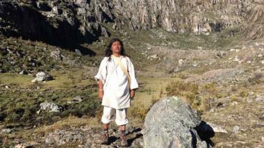 José de los Santos Sauna fue educado bajo los códigos y normas ancestrales.