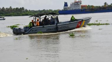 Reinician búsqueda de adolescente ahogado en el río Magdalena