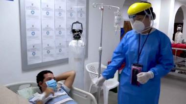 Linanel Fontalvo Díaz es uno de los pacientes recuperados, recibió atención en el Hospital General.