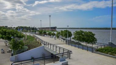 En el Gran Malecón del Río se permitirá el desarrollo de actividades físicas de manera individual.