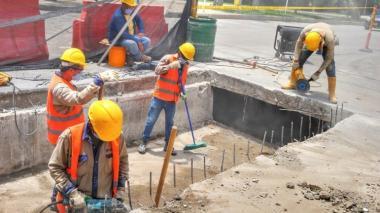 Construyen tapas de box culvert a la entrada de Ternera
