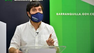 Jaime Pumarejo Heins, alcalde de Barranquilla.