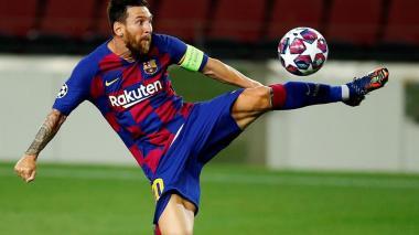 Messi se entrena con normalidad; Dembélé sigue mejorando