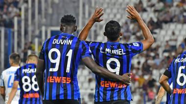 Atalanta vs. PSG: Duván y Muriel van por más en la Champions