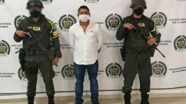 Capturado presunto cabecilla del 'Clan del Golfo' en Córdoba
