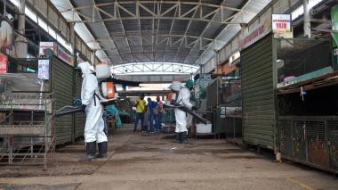 Detectan 50 nuevos casos positivos de COVID-19 en mercado de Valledupar