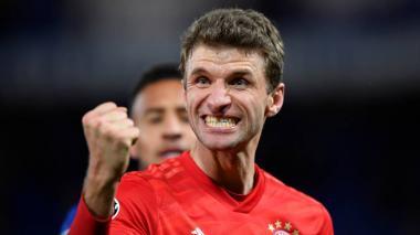 """""""Queremos tener la pelota y hacerle la vida difícil al Barcelona"""": Müller"""