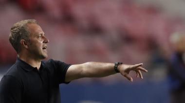 Tras la victoria en el Estadio da Luz de Lisboa, Flick elogió las buenas impresiones que mostró el equipo en el terreno de juego.