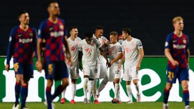El Bayern ridiculizó al Barcelona en Lisboa.