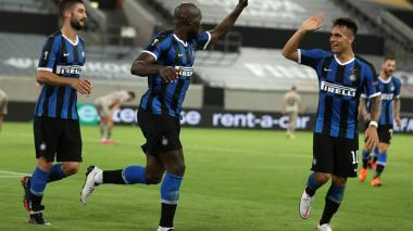 Inter goleó 5-0 al Shakhtar y jugará la final de la Europa League