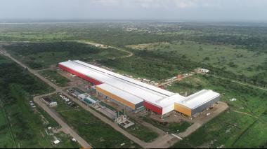 Planta de Ternium en Palmar de Varela con capacidad de producción de 500 mil toneladas de acero.