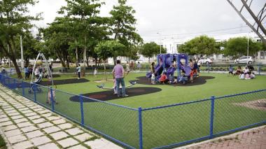 La construcción y remodelación de parques fue uno de los proyectos que se financió con recursos del BID.