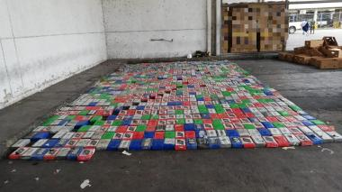 Hallan cargamento con cocaína  en el Puerto de Santa Marta