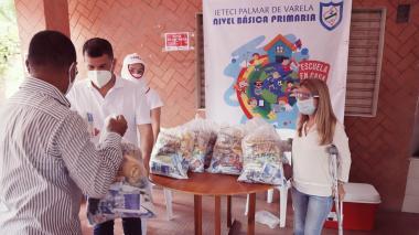 Gobernación inicia segunda entrega del Programa de Alimentación Escolar