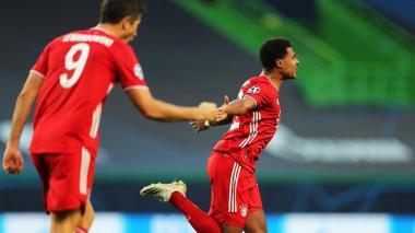 Serge Gnabry convirtió los dos goles del Bayern Munich.
