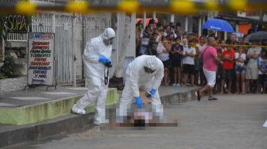 Jaime Martínez, de 32 años, fue asesinado en el barrio San Vicente, de Soledad.