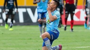 Juan Sebastián Herrera, delantero bumangués del Macará de Ecuador.