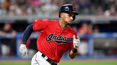 Óscar Mercado fue uno de los puntos positivos en el 2019 para los Indios.