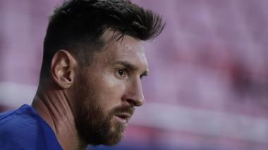 Lionel Messi, capitán del Barcelona, es noticia por su disgusto con la directiva catalana.