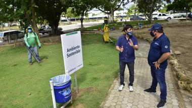 Pumarejo entregará más de 800 mil metros cuadrados nuevos de espacio público
