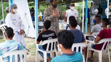 Llevan asistencia social y humanitaria a los Montes de María de Sucre