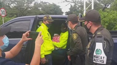 En video   Rescatan en Repelón a bebé raptada en Cartagena