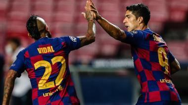 Luis Suárez y Arturo Vidal son dos de las posibles salidas del Barcelona.