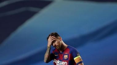 Lionel Messi tendría definida su salida del Barcelona de España.