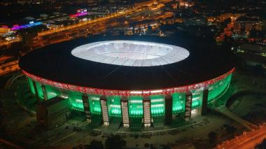 Puskas Arena de Budapest, sede de la final de la Supercopa de Europa.